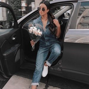 Pistola Denim Jumpsuit